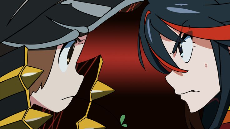 Mako and Ryuko - Kill la Kill [1920x1080 & 3840x1080] Need #iPhone #6S #Plus #Wallpaper/ #Background for #IPhone6SPlus? Follow iPhone 6S Plus 3Wallpapers/ #Backgrounds Must to Have http://ift.tt/1SfrOMr