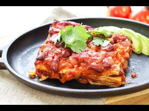 Enchilada Lasagna - The Buddhist Chef