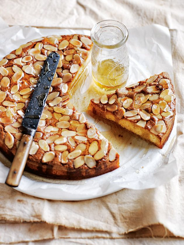 almond syrup cake from donna hay