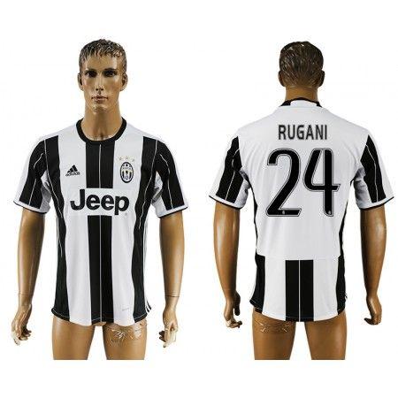 Juventuss 16-17 #Rugani 24 Hemmatröja Kortärmad,259,28KR,shirtshopservice@gmail.com
