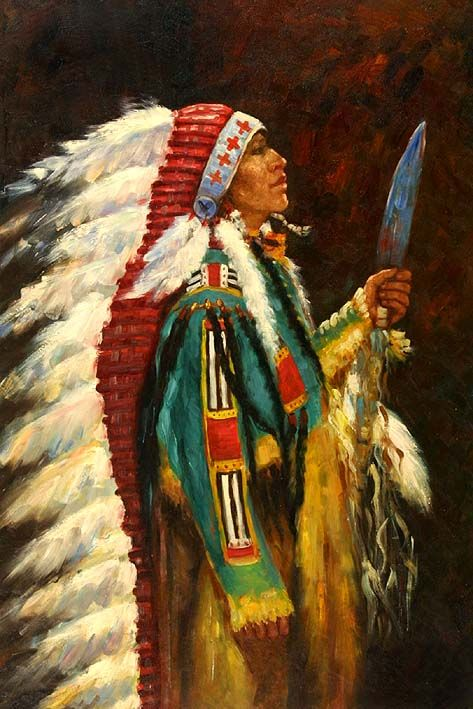 abstract native american paintings and art