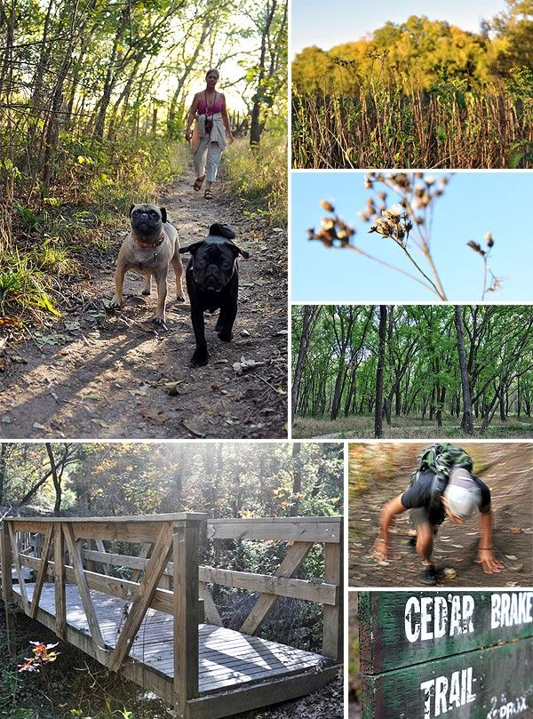 10 Top Trails For Hiking and Biking in Dallas   @Rachel Larsen We need to explore our options outside of white rock lake!