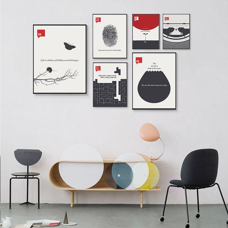 Красивые постеры на стену в офис