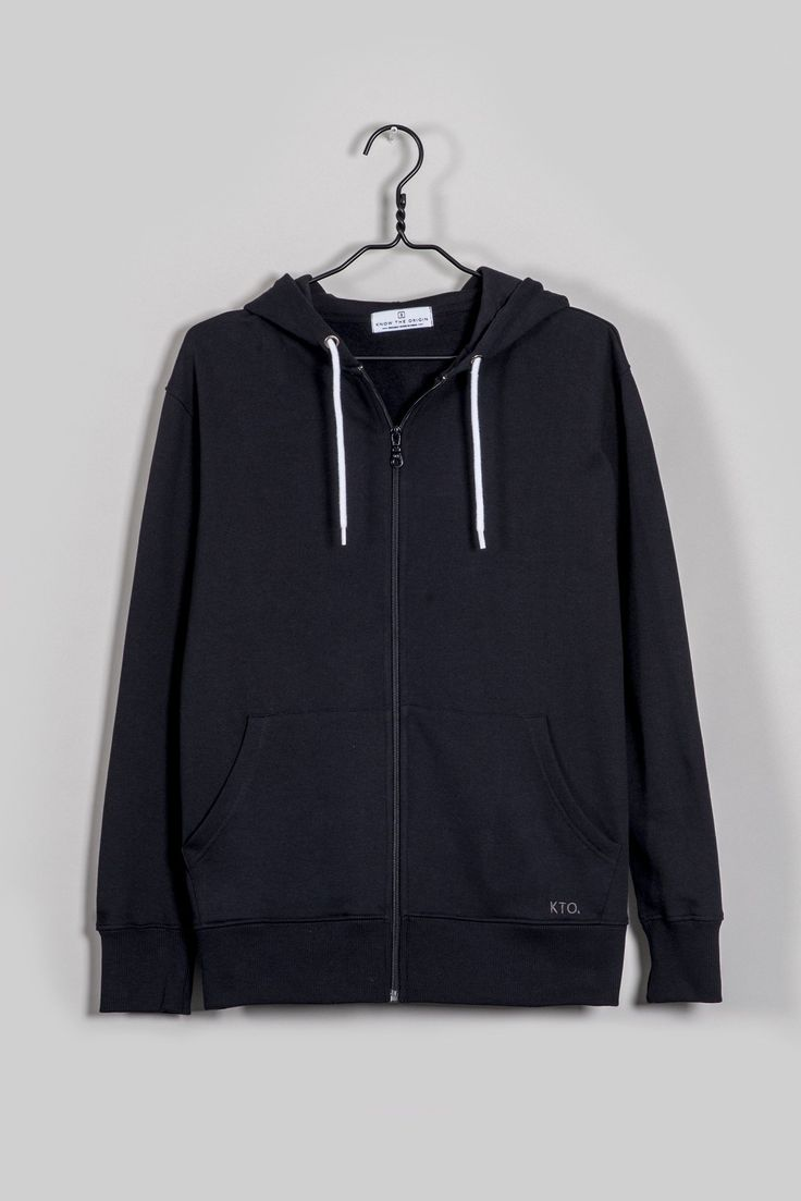 Our zip hoodie is made with Fairtrade and Organic cotton with a super soft fleece interior.  Great for everyday wear and or an easy throw on for the gym. It has a YKK zipper and contrast herringbone woven cotton drawstrings. Super comfy and made for all seasons, rain or shine (especially when you live in …