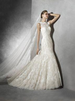 Svatební šaty Pronovias 2017 ve svatebním domě NUANCE. Model Terence.