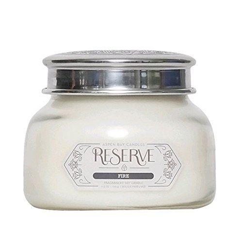 Aspen Bay Candle, Fire Scent, Reserve 21.5 oz. Jar