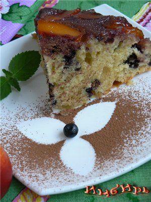 Пирог с нектаринами и черникой : Простые рецепты для вкусной жизни
