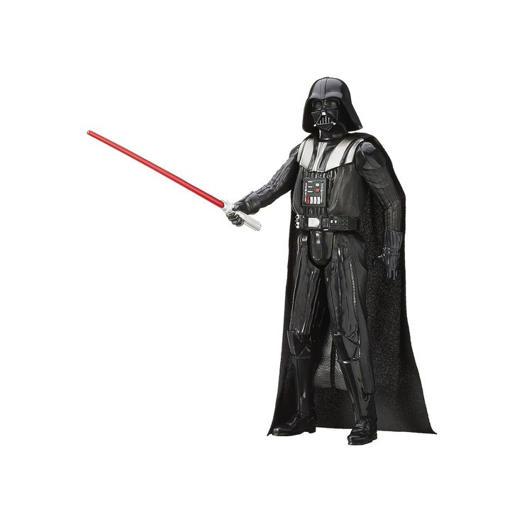 Star Wars: Episode III Revenge of the Sith 12-in. Darth Vader Figure by Hasbro, Multicolor