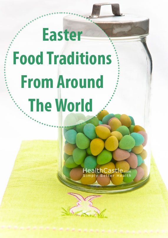 Easter Food Traditions From Around The World via HealthCastle.com