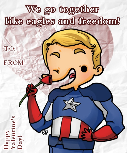 funny avengers valentines day cards