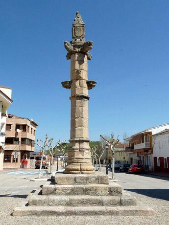 La Picota de El Puente del Arzobispo.