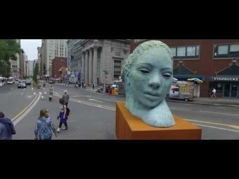 Lionel Smit Morphous Sculpture in Union Square - YouTube
