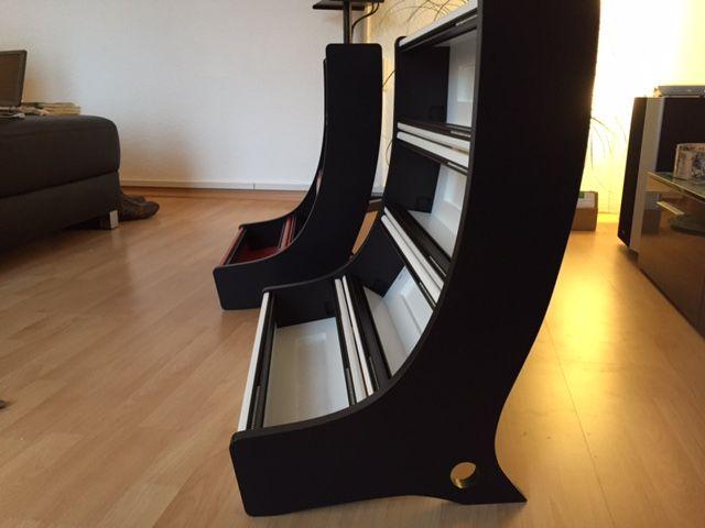 12U v2 Eurorack Cases - black & red or white