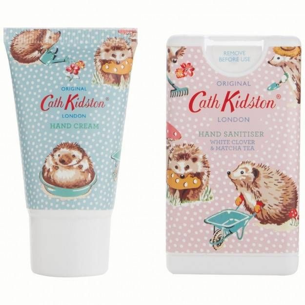 Cath Kidston Gardeners Club Cosmetic Pouch With Hand Cream And
