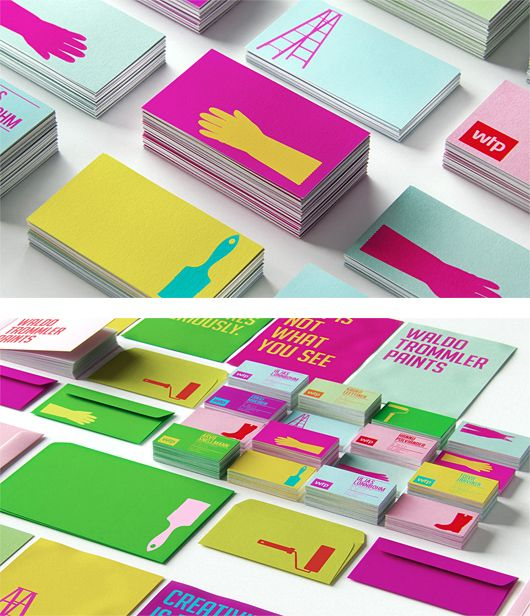 Amazing brand identity---I want business cards like this!