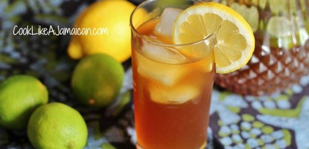 Jamaican Lemonade Recipe: When it's hot outside there's nothing like a long cold drink to cool you off. The Jamaican lemonade that I knew as...