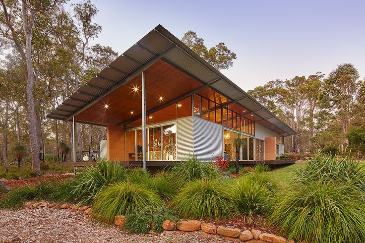 Bush House - Archterra _ passive design; australian architecture; light structure; light roof