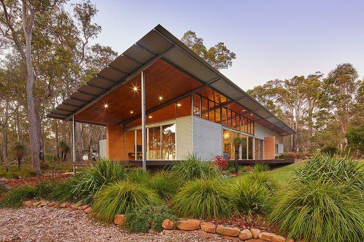 Bush House - Archterra _ passive design; australian architecture; light structure; light roof