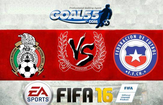 Prediksi Skor Mexico Vs Chile 19 Juni 2016