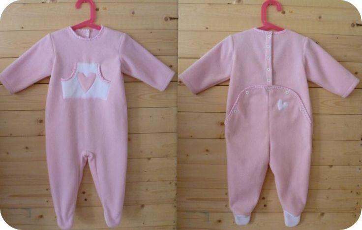 Patron couture gratuit pyjama b b couture enfant pinterest patron couture haute couture - Patron couture bebe naissance ...