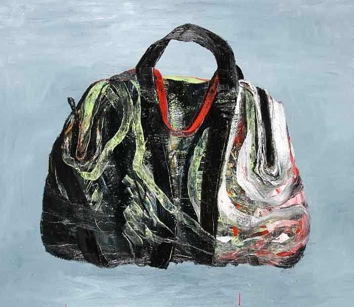 Trickbag, olieverf op linnen, 140 x 160 cm