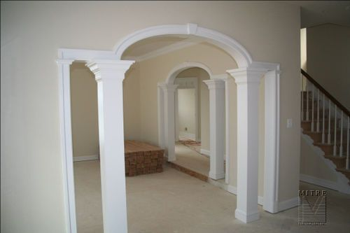 7 best images about trim archway on pinterest for Decorative archway mouldings