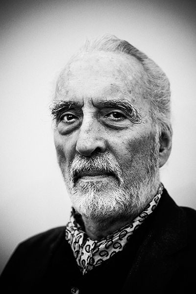 Sir Christopher Lee - Take the time to read about the man's incredible life, his talents, achievements, and modesty.