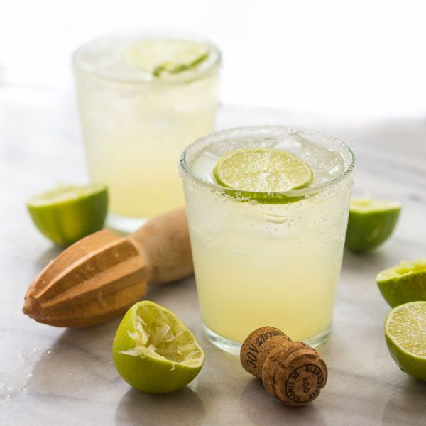 New idea for bubbly cocktails: a Champagne margarita.