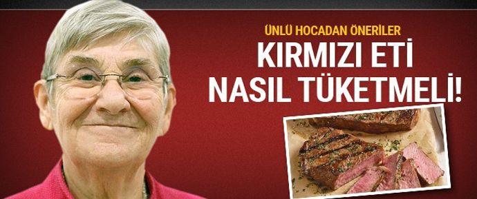 İç Hastalıkları ve Kardiyoloji Uzmanı Prof. Dr. Karatay, kırmızı et tüketimiyle ilgili önerilerde bulundu.