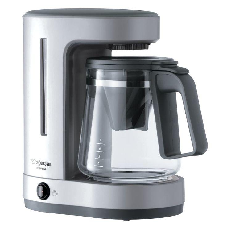 Zojirushi Zojirush EC-DAC50SA Zutto 5 cup Coffee Maker (5 cup), Grey (Plastic)