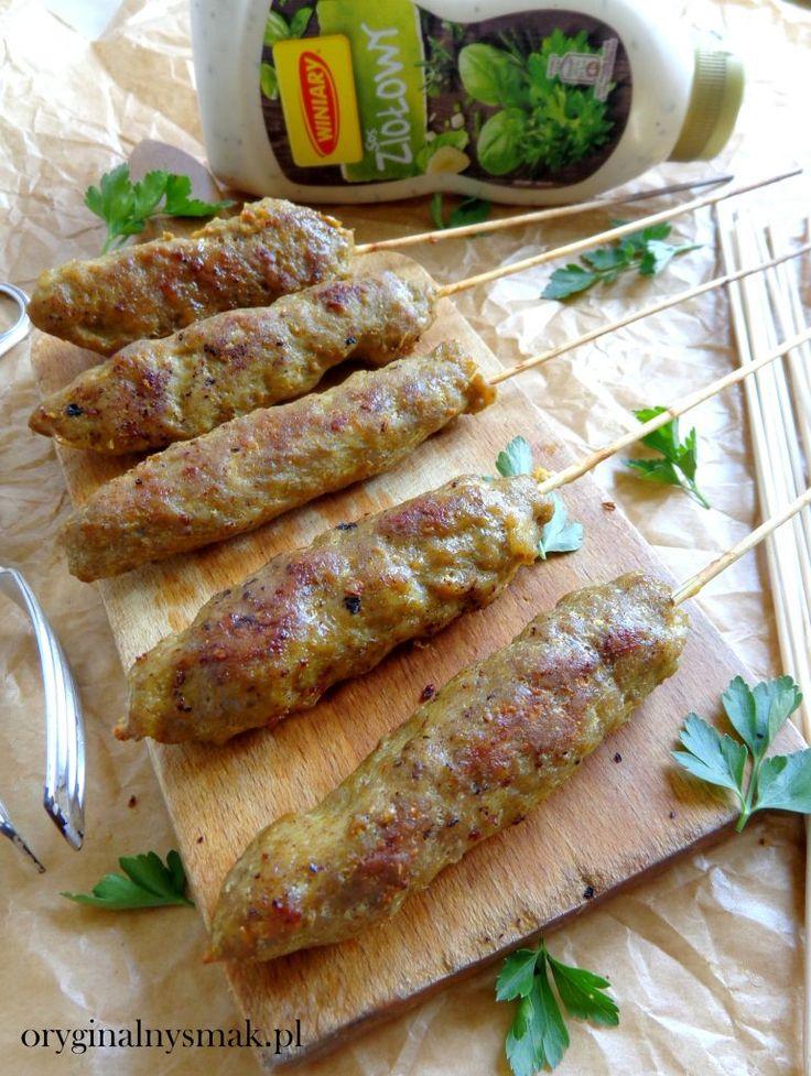 Orientalne szaszłyki z mięsa mielonego  | Oryginalny smak