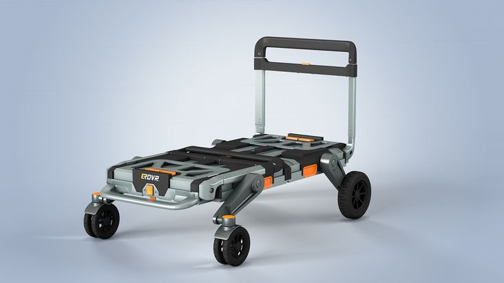 The EROVR is a multi-purpose folding cart-wagon system, designed to transform into a movers dolly, hand truck, handcart, flat cart, utility cart, kids wagon, beach wagon and much more. Bike Trailer