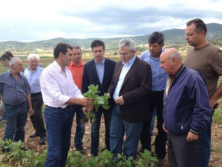 Κέλλας και Χαρακόπουλος για τις καθυστερήσεις στον ΕΛΓΑ
