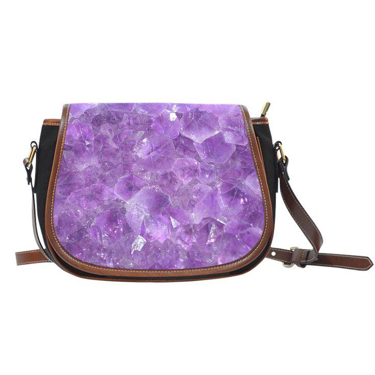 Saddle Bag - Amethyst