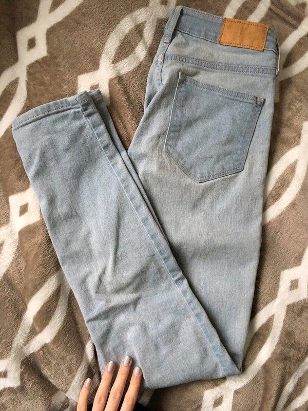 Spodnie jeansy high waist HM H&M z mojej szafy! Rozmiar 36 / 8 / S za 40.00 zł. Zobacz: http://www.vinted.pl/damska-odziez/dzinsy/17081094-spodnie-jeansy-high-waist-hm.