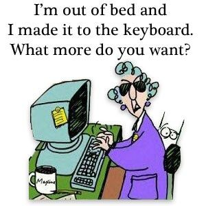 Maxine maxine: Funny Pics, Mornings Personalized, Funny Pictures, Maxine, Mornings Routines, Mondays Mornings, Funny Stuff, Funny Quotes, Saturday Mornings