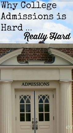 11 unexpected reasons why college admissions is tough on kids and parents.