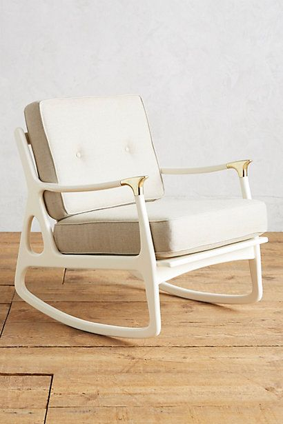Lacquered Haverhill Rocking Chair #anthropologie