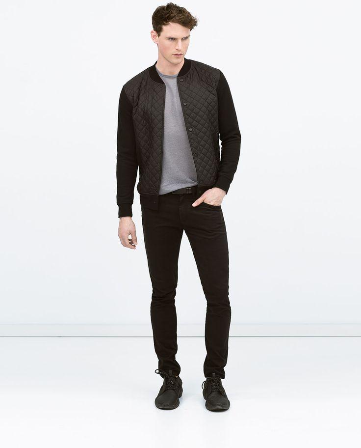 Image 1 of Combined nylon jacket from Zara