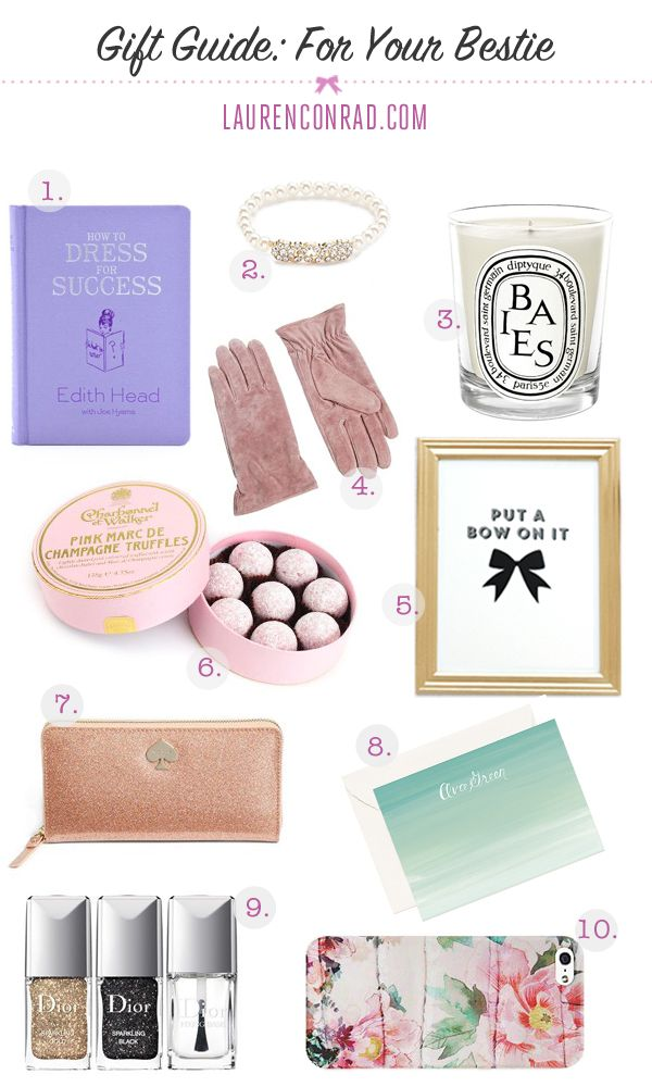 Gift Guide: 10 Gift Ideas For Your Bestie