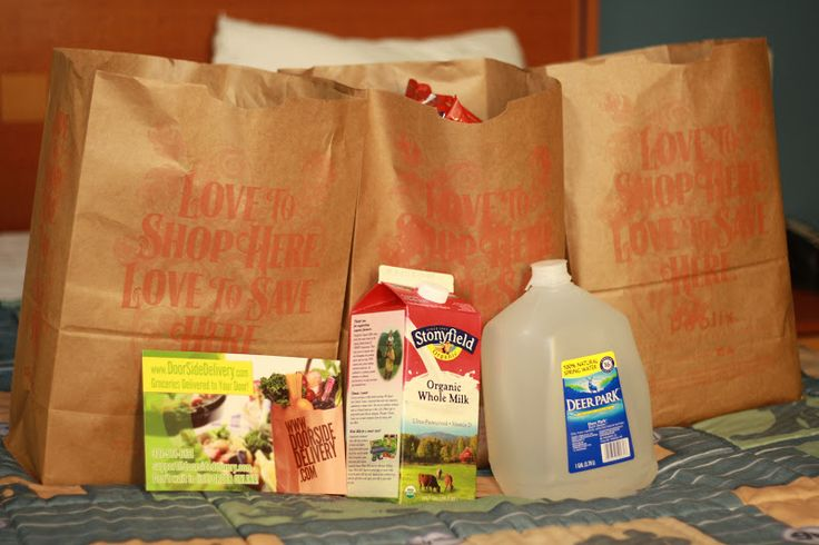 Doorside Delivery Grocery Service for your Trip to Walt Disney World