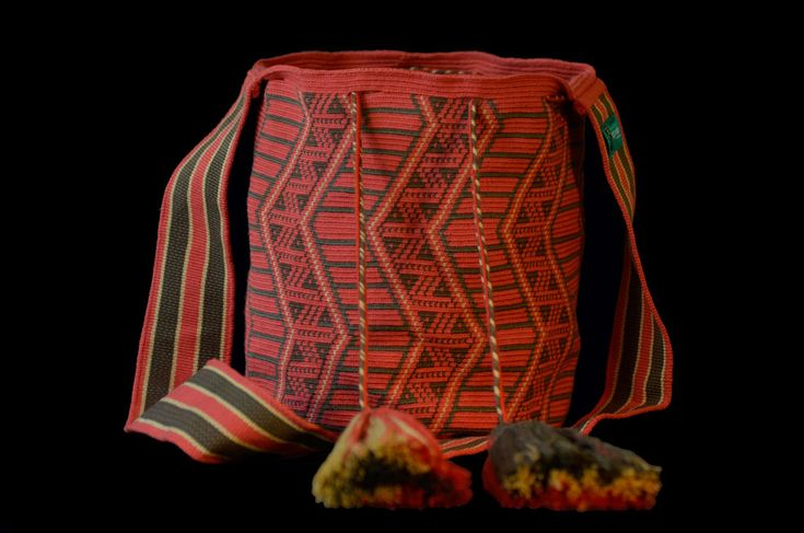 Support the Indigenous Wayuu Tribe of Colombia! Unique and a extremely well crafted Wayuu mochila bag. 1 thread crochet. Many styles to browse!