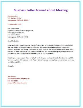 Awesome The Sample Business Letter Format Ideas That Are Found Here Are Meant To  Inspire And Guide