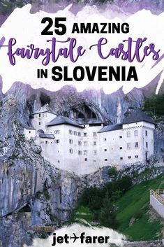 Slovenia Travel: Planning a trip to Slovenia? Check out this complete guide to 25 of Slovenia's most beautiful fairytale castles, many of which you can visit! #Slovenia #Europe | things to do in Slovenia | Ljubljana Slovenia | Slovenia bucket list | Bled Slovenia | Slovenia travel tips | Slovenia destinations | places to visit in Slovenia | slovenia road trip | fairytale castles | Europe travel