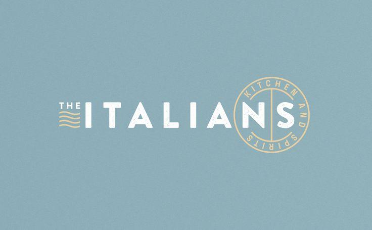 The Italians Restaurant Branding by The 6th Studio.