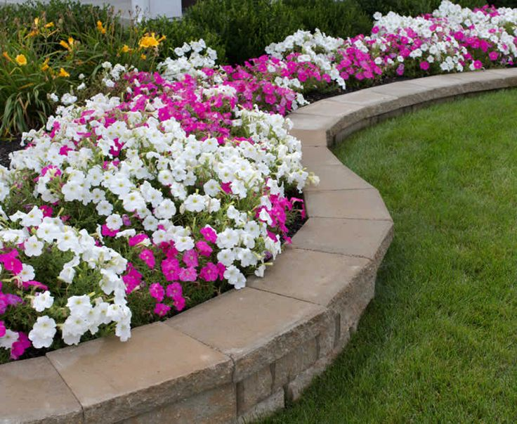 Paver landscaping retention walls and stone landscape
