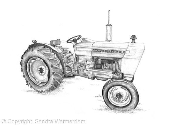 Ford 3000 Tractor Mechanical Blueprint : Best tractors images on pinterest art for sale