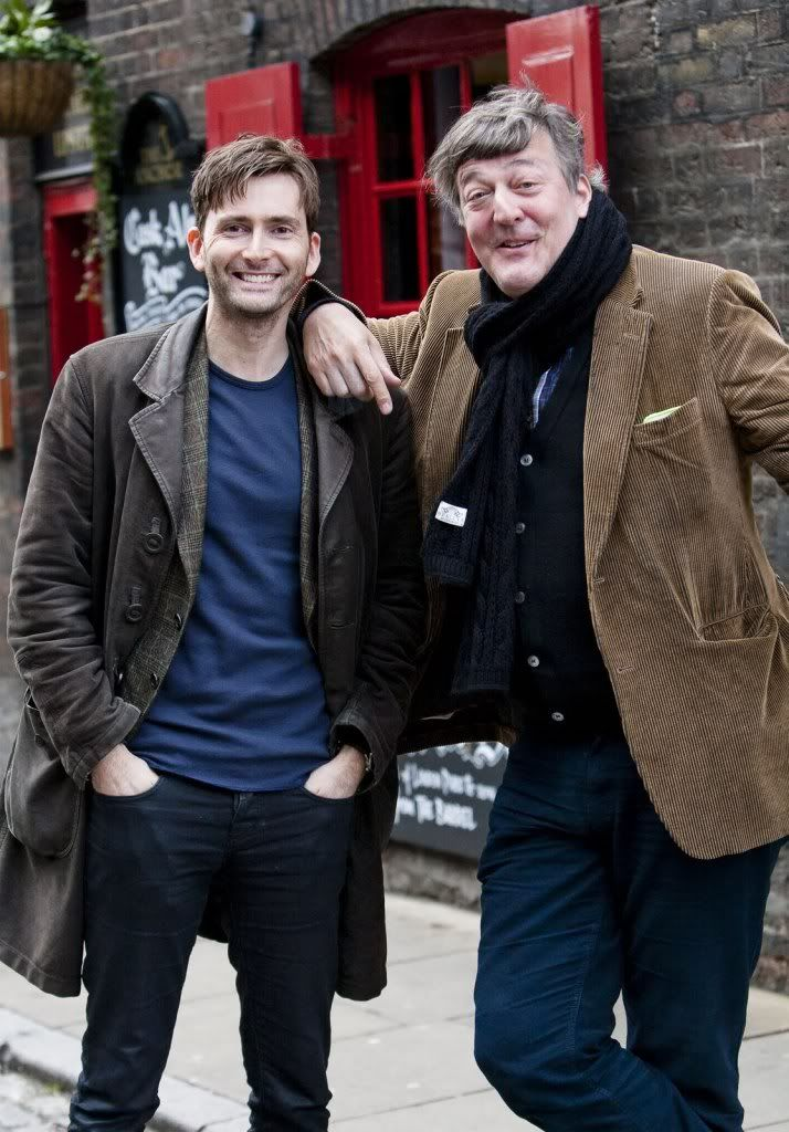 David Tennant AND Stephen Fry!   My life is complete.