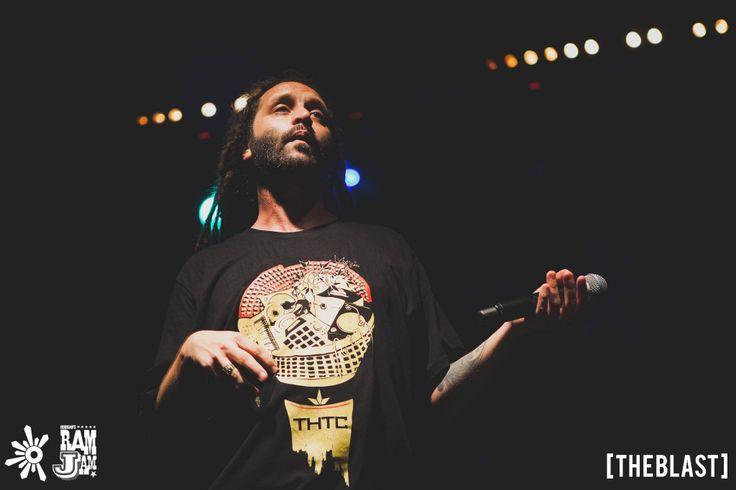 Italian Reggae legend Alborosie rocks a THTC organic tshirt #thtc #organic #alborosie #reggae #rasta #boomtown
