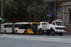 Adelaide's O-Bahn Busway recuperação caminhão